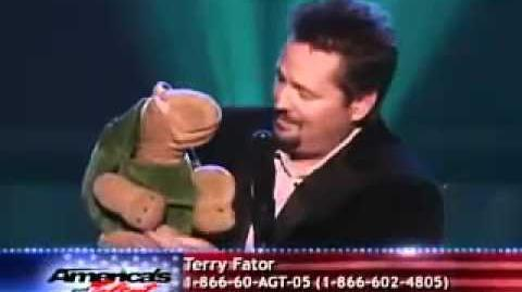 America's Got Talent Season 2 - Terry Fator - Top 20