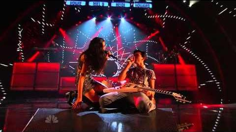 Brandon and Savannah - America's Got Talent 2013 Season 8 - Radio City Music Hall