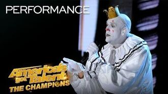"Puddles Pity Party Performs ""I Want To Know What Love Is"" - America's Got Talent The Champions"