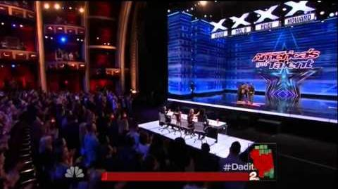 America's Got Talent 2015 Daditude! Auditions 7