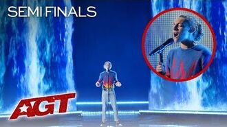 "14-Year-Old Benicio Bryant Sings INCREDIBLE Original Song, ""Fall Apart"" - America's Got Talent 2019"