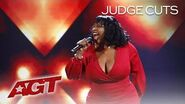 "Carmen Carter Puts An INCREDIBLE Spin On ""Come Together"" by The Beatles - America's Got Talent 2019"