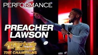 Preacher Lawson Comedian Hilariously Describes His Love Life - America's Got Talent The Champions-0