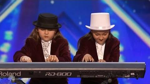 Americas Got Talent 2016 Elias & Zion Phoenix Twin Keyboardists Full Audition Clip TonyPatrony