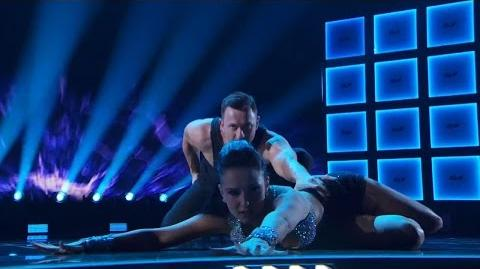 America's Got Talent 2015 S10E15 Live Shows - Craig and Micheline Acrobatic Dancers