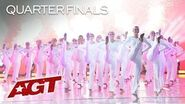 Dance Group Emerald Belles Perform STUNNING And Synchronized High Kick! - America's Got Talent 2019