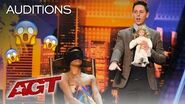 Haunting Magician Nicholas Wallace Terrorizes AGT Judges With Scary Doll - America's Got Talent 2019
