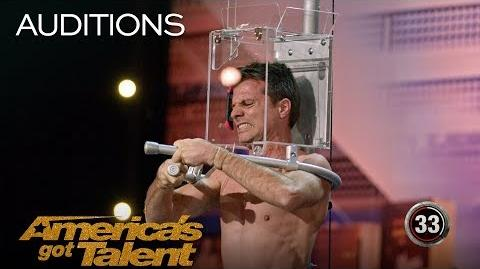 Lord Nil's Dangerous Escape From Scorpions - America's Got Talent 2018
