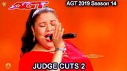"Olivia Calderon ""Cucurrucucu Paloma"" detention officer singer America's Got Talent 2019 Judge Cuts-0"