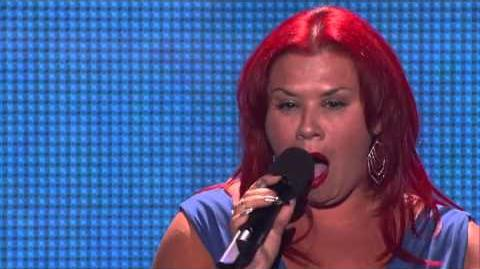 Deanna DellaCioppa - America's Got Talent 2013 Season 8 - Vegas Week