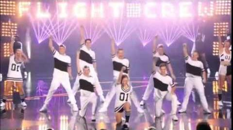 America's Got Talent 2014 Flight Crew Jump Rope Semi-Final 1