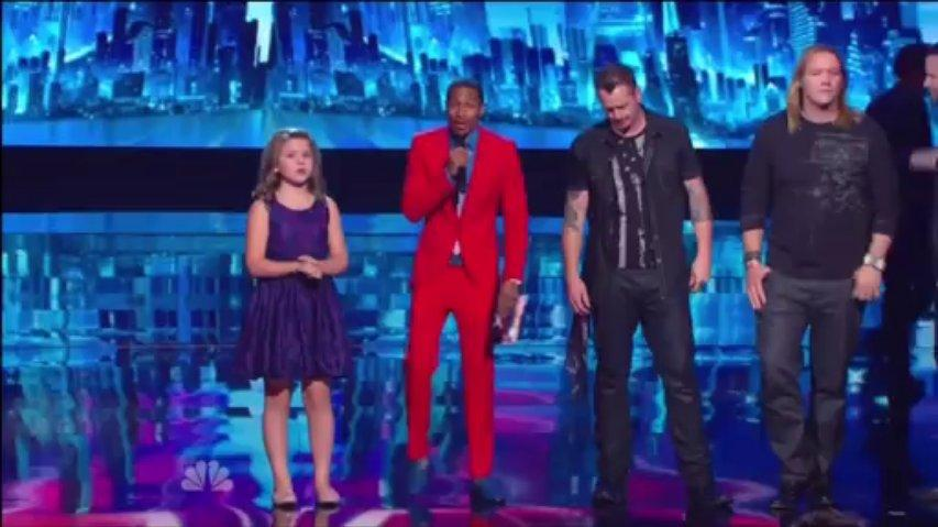 3rd Semifinalist ~ AGT 2013 Live Results