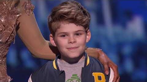 America's Got Talent 2017 Merrick Hanna Performance & Comments Semi-Finals S12E21