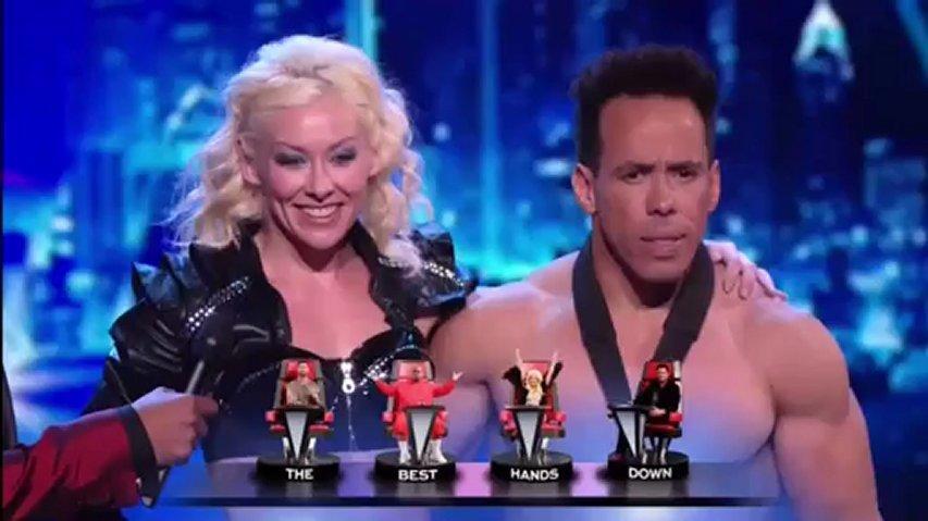 Donovan & Rebecca, 1st Semifinal ~ America's Got Talent 2012