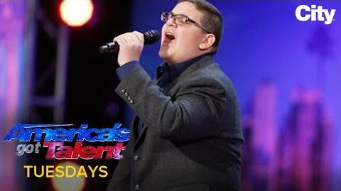 16-Year-Old Singer Is Awarded Howie's Golden Buzzer AGT 2017