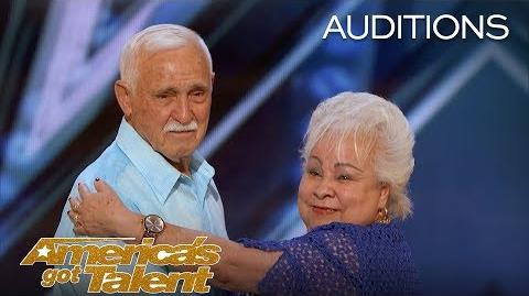 Celina and Filiberto Elderly Couple Dirty Dance On AGT - America's Got Talent 2018