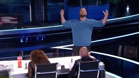 America's Got Talent 2016 Jon Dorenbos Amazing Philidelphia Eagle Magician Live Shows S11E12