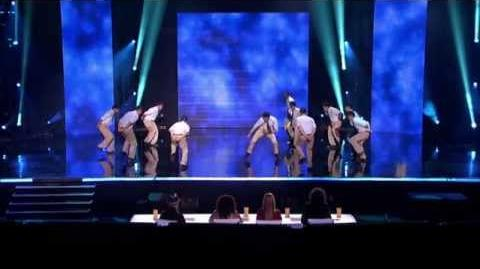 Archbishop Molly Step Team - America's Got Talent 2013 Season 8 - Vegas Week
