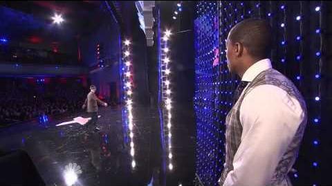 Trevor Stone - Spontaneous Art - Naughty Kitty - America's Got Talent 2013 Season 8 Week 5 Auditions
