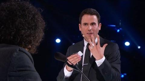 America's Got Talent 2015 S10E10 Judge Cuts - Oz Pearlman Mentalist