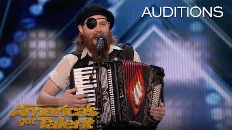 French Accent Audience Backs Comedian After Receiving 3 Buzzers - America's Got Talent 2018-0