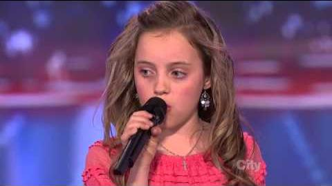 Chloe Channell - America's Got Talent 2013 Season 8 Week 6 Auditions