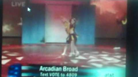 ARCADIAN BROAD AMERICA'S GOT TALENT DANCING TO DISNEY HIGH SCHOOL MUSICIAL NUMBER