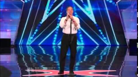 America's Got Talent 2014 Donnie Valentine Auditions 1