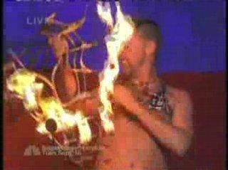 Flambeaux Fire