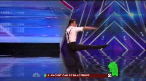 America's Got Talent 2015 Aaron Smyth Auditions 7
