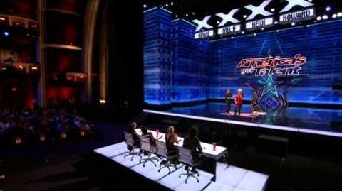 America's Got Talent 2015 Daniel & Syum Auditions 5