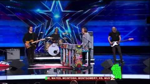 America's Got Talent 2015 3 Shades of Blue Auditions 7