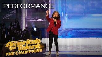 7-Year-Old JJ Pantano ROASTS Simon Cowell With Funny Insults! - America's Got Talent The Champions
