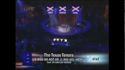 The Texas Tenors singing My Way