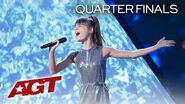 """13-Year-Old Charlotte Summers Will SHOCK You With """"Diamonds Are Forever"""" - America's Got Talent 2019"""