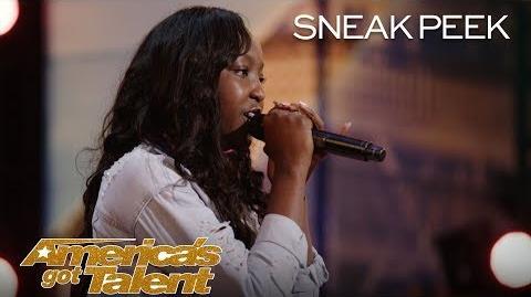 LEAK 14-Year-Old Flau'jae Performs Emotional Rap About Gun Violence - America's Got Talent 2018