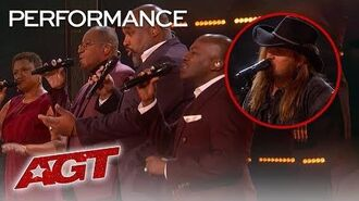"""Billy Ray Cyrus And Voices of Service Perform The Amazing """"Some Gave All - America's Got Talent 2019"""