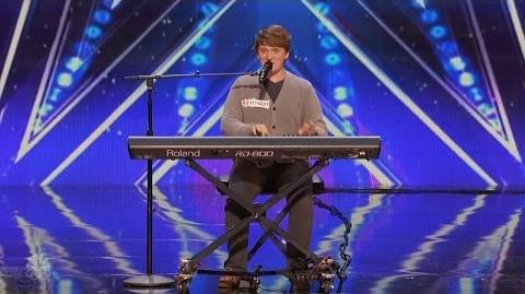 America's Got Talent 2016 Ryan Beard Comedic Musician Full Audition Clip S11E05