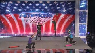 America's Got Talent Team X-Pogo 2010