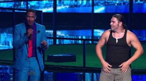 David 'The Cobra Kid' Weathers - America's Got Talent 2013 Season 8 - Radio City Music Hall