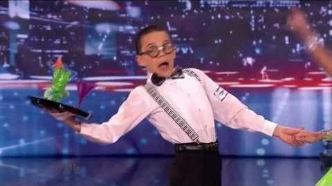 America's Got Talent 2013 Season 8 Week 2 Auditions - Ruby and Jonas D'Angelo and Amanda