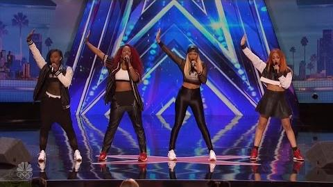 America's Got Talent 2016 Good Girl Mel B Girl Band Full Audition S11E03