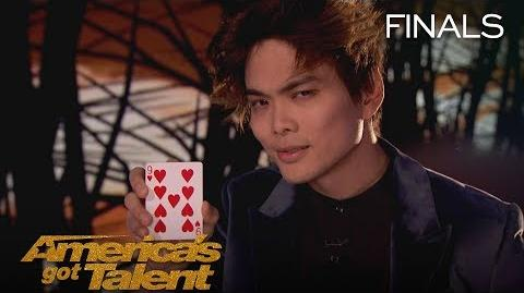 Shin Lim Magician Performs Jaw-Dropping, Unbelievable Card Magic - America's Got Talent 2018
