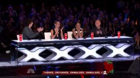 America's Got Talent 2015 Delighted Tobehere Auditions 7