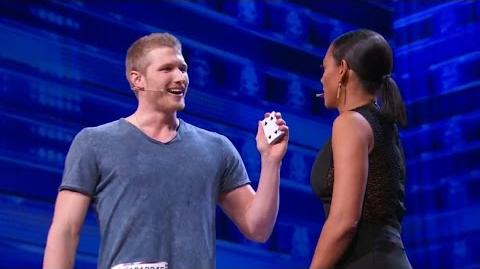 America's Got Talent 2015 S10E03 Michael John Street Magic Act