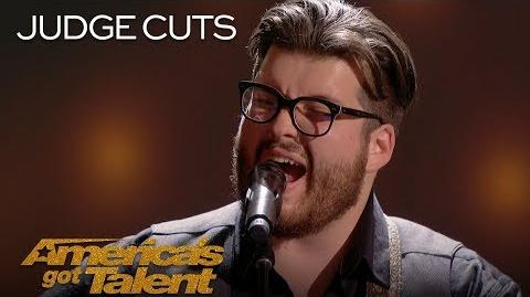 "Noah Guthrie Musician Delivers Amazing Rendition of ""Whipping Post"" - America's Got Talent 2018"