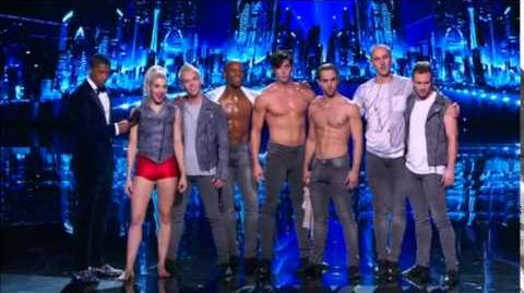 America's Got Talent 2014 Bad Boys Of Ballet Semi-Final 1