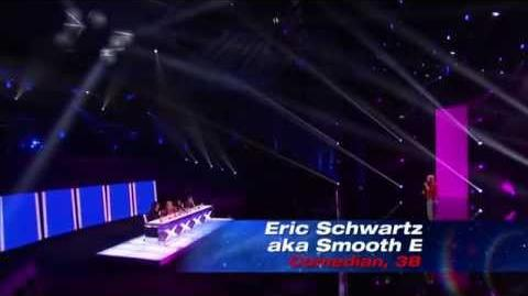 Eric Schwartz aka Smooth E - America's Got Talent 2013 Season 8 - Vegas Week