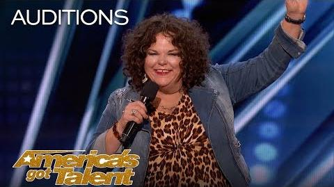 Vicki Barbolak Comedian Finally Gets Her Joan Rivers Moment - America's Got Talent 2018