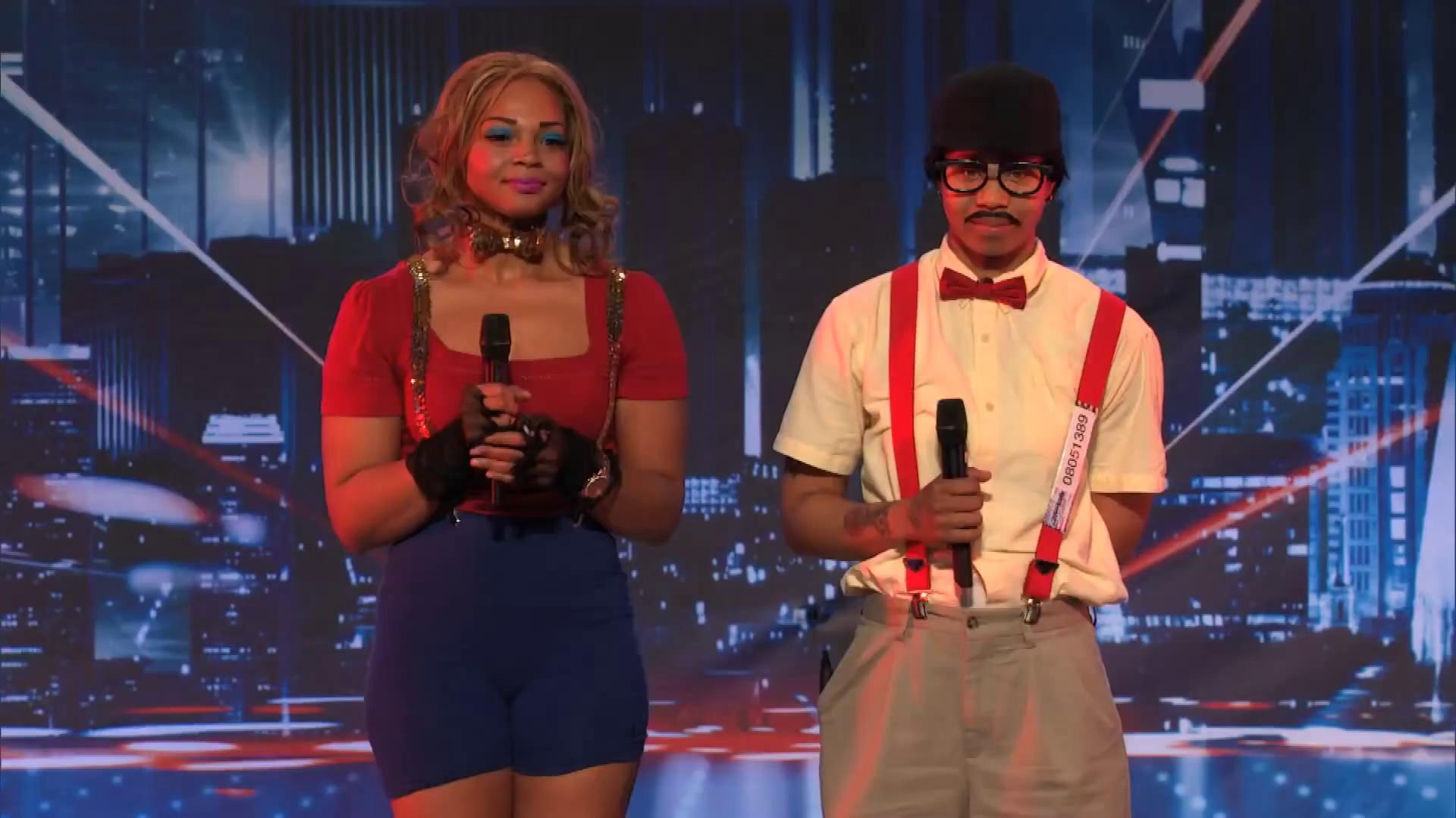 America's Got Talent 2013 - Season 8 - 102 - Distraxtion - Human Like Puppet Act